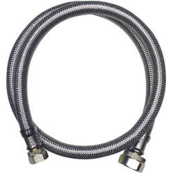 Do it Best 3/8 In. C X 1/2 In. F X 24 In. L Stainless Steel Faucet Connector
