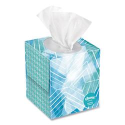 Cool Touch Facial Tissue, 2-Ply, White, 45 Sheets/Box, 27 Boxes/Carton 50140