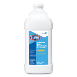 Anywhere Daily Disinfectant and Sanitizer, 64 oz Bottle, 6/Carton 60112
