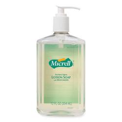 Antibacterial Lotion Soap, Light Scent, 12 oz Pump Bottle 9759