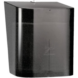 Kimberly Clark Scott Esssential In-Sight Center-Pull Smoke Paper Towel Dispenser