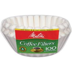 Melitta Junior 4-6 Cup Basket Coffee Filter (100-Pack) 62995