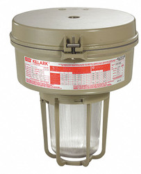 Killark MH Light Fixture,With 2PDE4 And 2PDE7  VM3P170A2GLG
