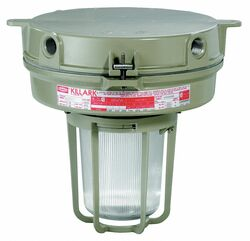Killark HPS Light Fixture,With 2PDE4 And 2PDG7  VM1S100X2GLG