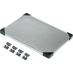 "Nexel Solid Galvanized Steel Shelf, 24""W x 18""D"