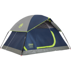 Coleman 2-Person 5 Ft. W. x 7 Ft. L. Dome Tent 2000034546 Pack of 4