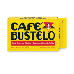 Cafã© Bustelo Coffee, Espresso, 10 Oz Brick Pack 01720