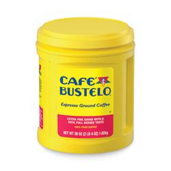 Cafã© Bustelo Cafe Bustelo, Espresso, 36 Oz 00055
