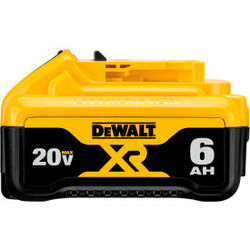 DeWALT DCB206 20V MAX Premium XR 6.0Ah Li-Ion Battery