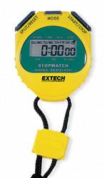 Extech Digital Stopwatch,Water Resistant  365510