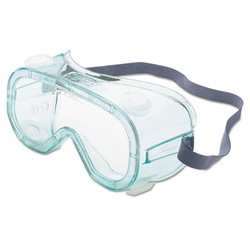Honeywell A610s Safety Goggles, Indirect Vent, Green-Tint Fog-Ban Lens A610S