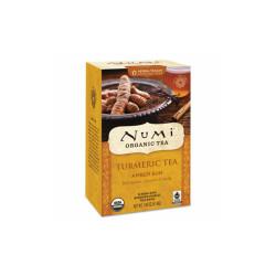 Numi Turmeric Tea, Amber Sun, 1.46 Oz Bag, 12/Box 10552