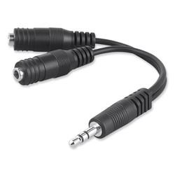 Belkin Speaker and Headphone Splitter, White F8V234