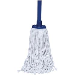 """Trust® Cotton Mop & Handle Combination, 59 1/16"""", 1/Each"""