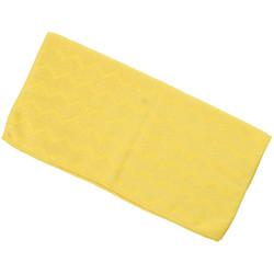 Trust® U-Rag Microfiber Cloth, Bathroom, Yellow, 12/Pkg