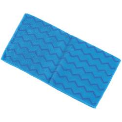Trust® U-Rag Microfiber Cloth, General Purpose, Blue, 12/Pkg