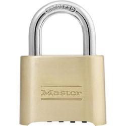 "Master Lock® 4-Digit Resettable Combination Padlock, 1"" Shackle, 1/Each"