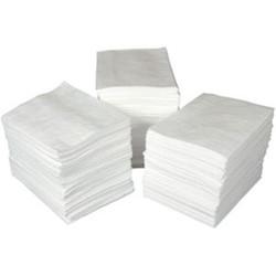 "SPC® ENV® Maxx Enhanced Medium Weight Economy Pads, 15"" x 19"", White, 100/Bale"
