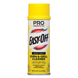 Professional Easy-Off Oven and Grill Cleaner, 24 Oz Aerosol, 6/Carton 85261