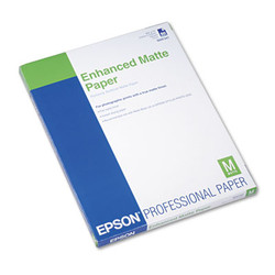 Epson Paper,Enhncd,Ltr,Mt S041341