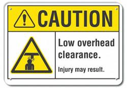 Lyle Caution Sign,7 in x 10 in,Aluminum  LCU3-0006-RA_10x7