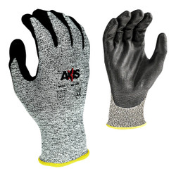 Radians® AXIS™ Cut Protection Level A4 Work Gloves, 2X-Large, Gray, 1/Pair