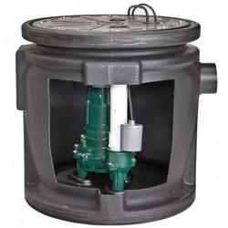 Zoeller 1/2 HP,Sewage Ejector,Max. Head 21 ft.  912-1117