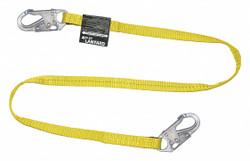 Honeywell Miller Positioning Lanyard,Yellow,Fixed  213WLS-Z7/6FTYL