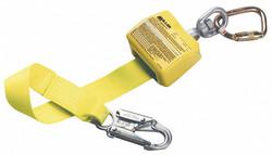 Honeywell Miller Self-Retracting Lifeline,Yellow  8327-Z7/10FTYL