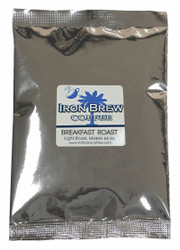 Iron Brew Coffee,Breakfast Roast,Caff,Ground,PK50  C-50CTBRK-NF