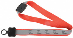 Quality Resource Group Lanyard,Safety No Accident,PK10  23GLYSA
