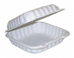 """Pactiv Carry-Out Food Container,8""""W,PK200  YCN808010000"""
