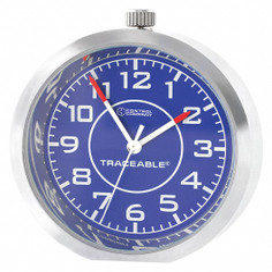 Control Company Desk Clock,Analog,Battery  1003