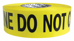 Presco Products Co Barricade Tape,Yllw/Slvr/Blk,1000 ft  RB3103Y820-200