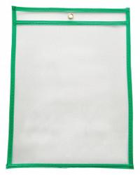 Sim Supply Shop Ticket Holder,Green,12 in. W,PK15  45TU82