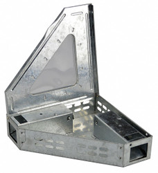 Sim Supply Triangle Mouse Trap,Clear Lid  32J095