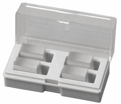 Lab Safety Supply Cover Slip, Plain, Pointed Crnrs,PK180  20F846