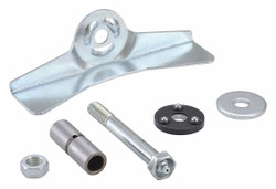 Sim Supply Brake Kit for Casters,Steel,Right Brake  404L15