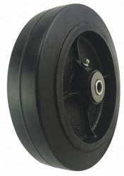 "Sim Supply RBBR Tread on Iron Core Wheel,8""  400K38"