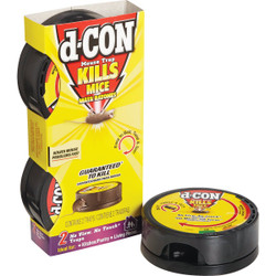 D-Con No View, No Touch Mechanical Mouse Trap (2-Pack) 1920082043 Pack of 8