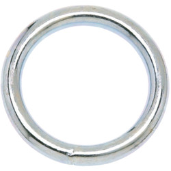Campbell 2 In. Nickel-Plated Welded Metal Ring T7661152 Pack of 10