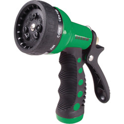 Dramm Heavy-Duty Metal 9-Pattern Nozzle, Green  60-12704 Pack of 6