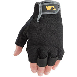 Wells Lamont Men's Large Canvas Stretchable Fabric Carpenter's Glove 847L Pack of 3