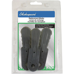 Shakespeare Brush Cutter Replacement Blade (3-Pack) 17258 Pack of 6