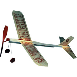 Paul K Guillow Flying Machine 17 In. Balsa Wood Glider Plane 75 Pack of 24