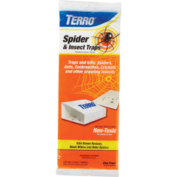 Terro Indoor Glue Insect & Spider Trap (4-Pack) T3206 Pack of 24