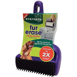 Evercare Fur Erase 4 In. Roller with Brush Pet Hair Remover 617112 Pack of 4