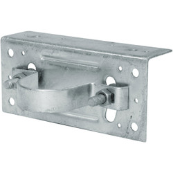 Midwest Air Tech Adjustable 2-3/8 in. Steel Fence Post Adapter Clamp 328598C Pack of 20