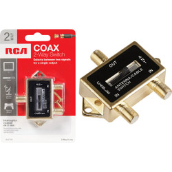 RCA A/B Coax Switch VH71R Pack of 6