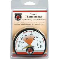 Meeco's Red Devil Porcelain Steel Stove Thermometer 425 Pack of 6